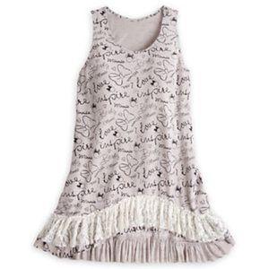 Disney Parks NWT Minnie hi-low lace tunic 🆕🏷